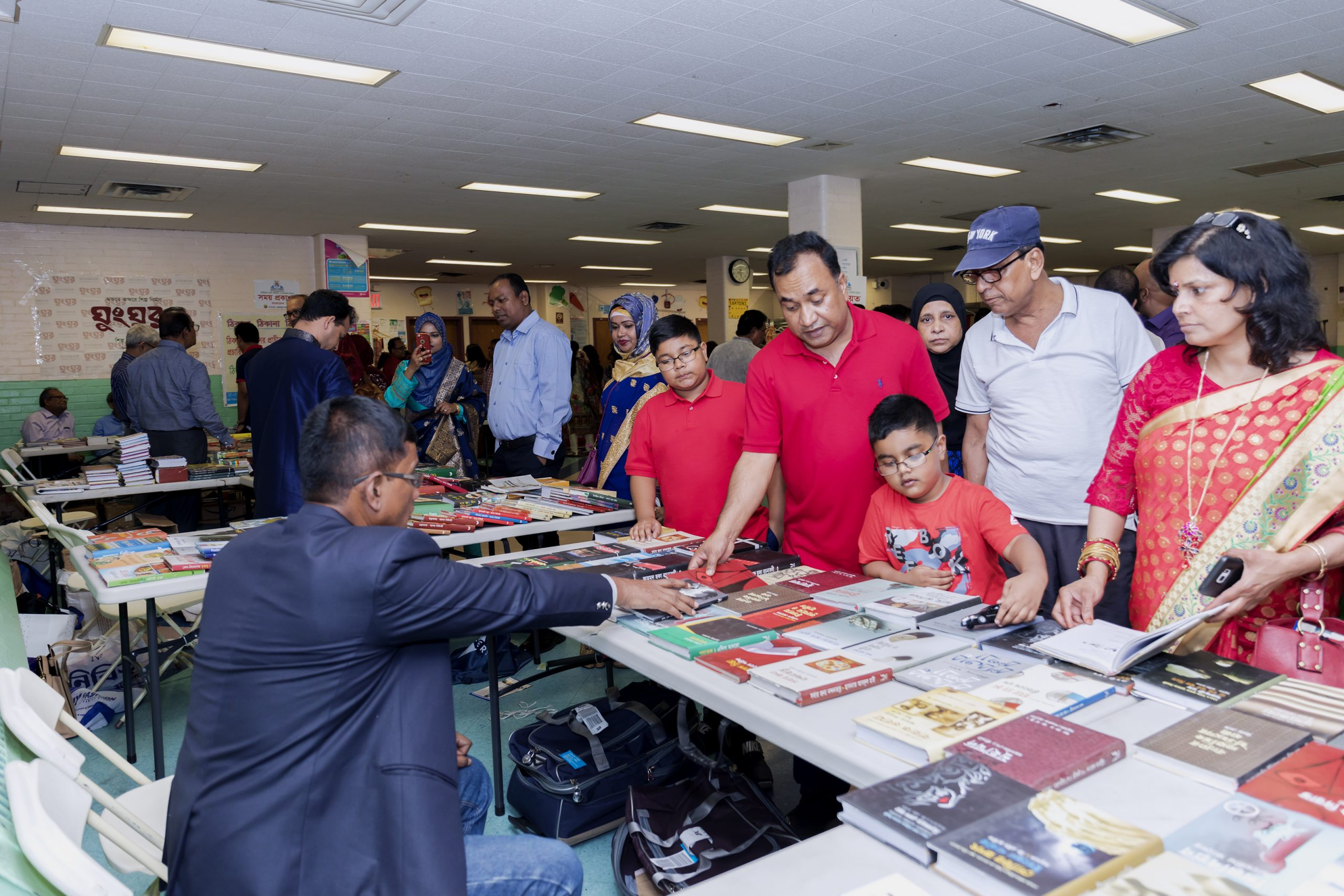 Sandesh Prakashani Book Stall at the New York Bangla Boimela 2019