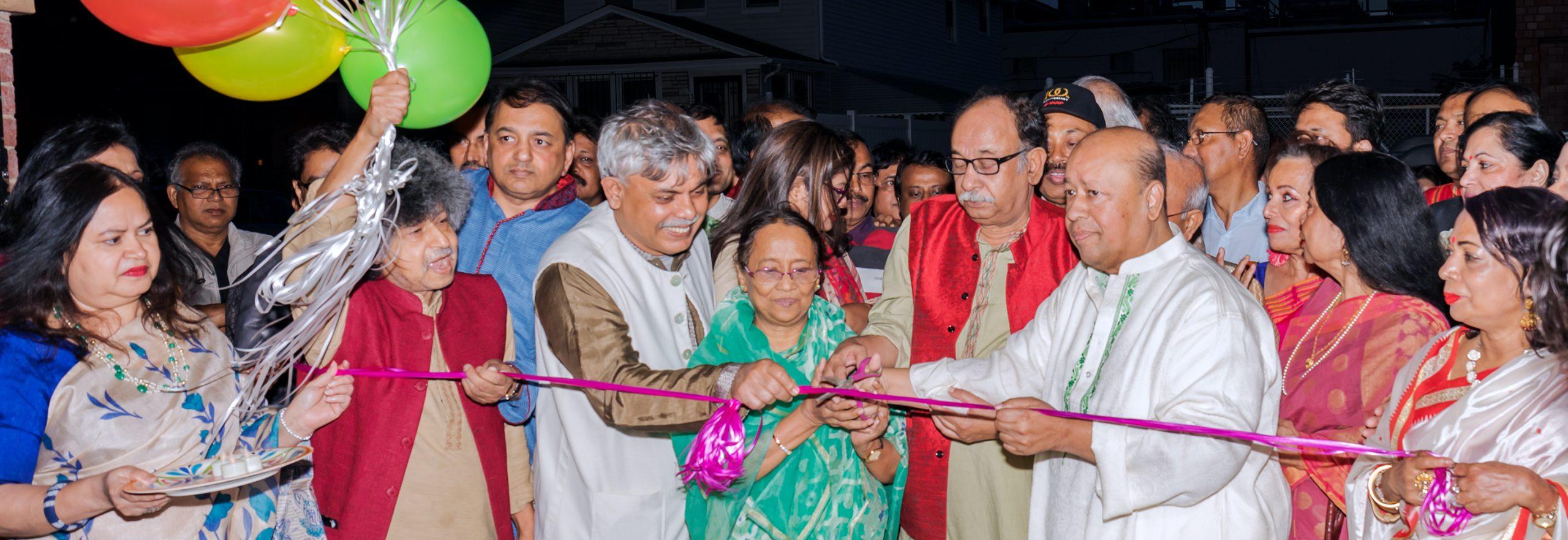 Faridur Reza Sagar Inaugurates the NY Bangla Boimela 2019