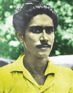 A Young Bangabandhu in 1949