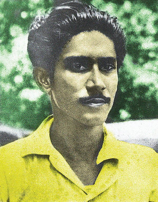 A Young Sheikh Mujibur Rahman